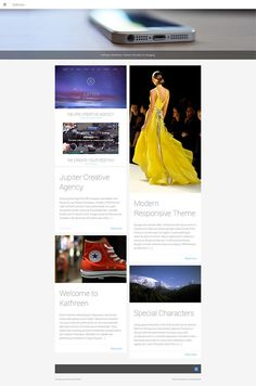 Check out Kathreen WordPress Theme by ShakeDesign on Creative Market