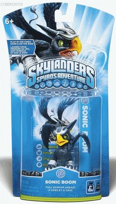 Skylanders SONIC BOOM Game Figure Spyros Adventure Swap Force Single Pack NEW #Activision #ActionFigure #Skylanders #Cyberontix