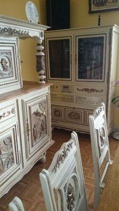Meuble breton peint par comptoirs des couleurs locmine 56 jolis d cors et m - Conseil deco peinture ...