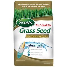 Scotts Turf Builder Grass Seed  Southern Gold Mix for Tall Fescue Lawns 7Pound Sold in select Southern states *** Click image for more details.