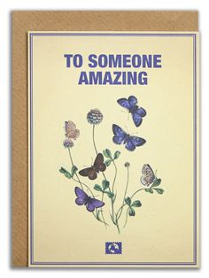 """""""To someone amazing"""". #messageearth #sustainable #greetingcards #sustainability #eco #design #ecodesign #vintage #cards #peculiar"""
