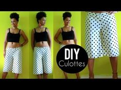 DIY Culottes | Sewing For Beginners #sewing #diy #selfmade