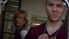 I think just from this picture this is protect and serve. I loved that episode! Jemma Redgrave, Hospital Tv Shows, Holby City, Medical Drama, Cactus, Fandoms, Fandom, Followers