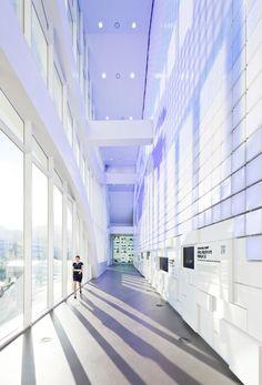 unsangdong architects animate hyundai motors group pavilion for the 2012 yeosu expo, south korea - designboom | architecture & design magazine