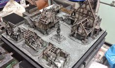 Small Mordheim interlude, with table!