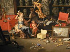 Sight by Jan van Kessel the Elder
