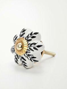 Puxador de Porcelana e Ceramica p/ Gaveta | collector55.com.br | R$ 21