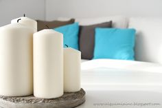 Decoración Pillar Candles, Blog, Home, Houses, Alchemy, Taper Candles, Haus, Homes, At Home