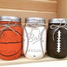 Sort theme mason jars