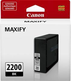 Canon - PGI-2200 Ink Cartridge - Black, 9291B001