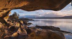 La natura incontaminata dell'isola di Vancouver