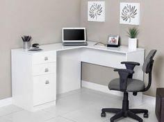 Mesa para Computador/Escrivaninha Canto Extrema - 1 Porta 2 Gavetas - Somopar ESC.CANT