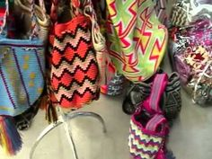 ▶ Native Indian Wayuu Mochila Bags. - YouTube