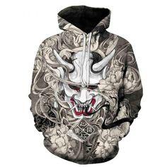 Skull Hoodie, Hoodie Jacket, Tracksuit Tops, Hoodies For Sale, Blue Flames, Michael Myers, Hiphop, Red And Blue, Vogue