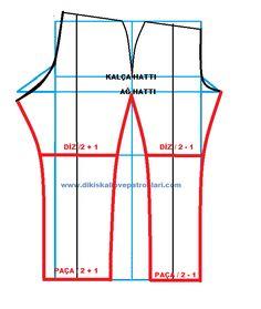 Temel Kadın Pantolon Kalıbı ( Klasik Pantolon ) Pensli Çıkarma ve Çizme Yöntemleri. Acemiler ve yeni başlayanlar için kolay ve pratik yöntemle pantolon kalıbı çıkarma.