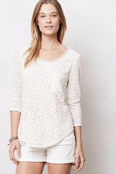 anthro lace-y tee