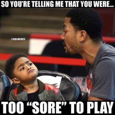 RT @NBAMemes: Derrick Rose's son be like... - http://nbafunnymeme.com/nba-funny-memes/rt-nbamemes-derrick-roses-son-be-like