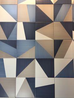 6 tile trends you should know modern kitchen tiles, modern floor tiles, kit Floor Patterns, Tile Patterns, Textures Patterns, Kitchen Tiles, Kitchen Flooring, Kitchen Cabinets, Floor Design, Tile Design, Quilt Modernen