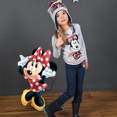 Shooting Photo Tous-les-Héros Tee-shirt à manches longues Minnie Bonnet Lee Cooper  #touslesheros #tlh #mode #enfant #disney #minnie #girly #hiver #MinnieMouse