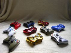 Customize Xbox 360 Controllers Or Any Ps3 or Even Any Controllers...