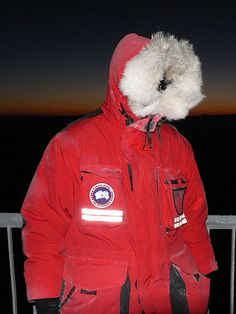 Canada Goose Alpinista Red Jacket