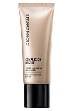 Love the BareMinerals hydrating gel cream. It's a BB cream, a CC cream and a tinted moisturizer all in one.