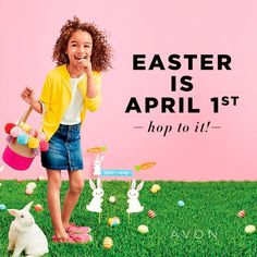 Now is the time to collect Easter goodies, and you'll find plenty at my Avon store, from Easter baskets to home decor. Avon Sales, Avon Mark, Avon Online, Avon Representative, Shops, Medium, Super Cute, Easter Decor, Fun