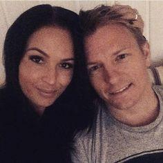 Merry Christmas from Kimi Raikkonen and Minttu Virtanen :) 2014