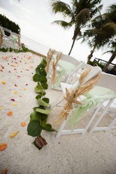 Inspiring Green Beach Wedding Ideas  www.MadamPaloozaEmporium.com www.facebook.com/MadamPalooza