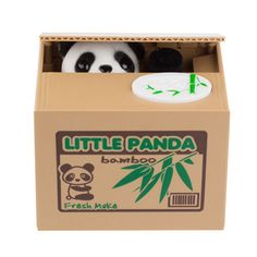 Lovely Panda Saving Money Box Electronic Coin Bank