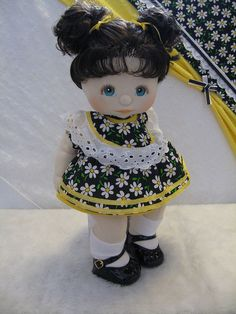 my favorite doll...A My Child...I was so proud because I bought her with my own money.;)