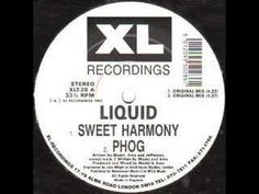 """Liquid - Sweet Harmony I own a dodgey CD called """"Ratpack Happy Hardcore"""" from the mid and it contained bootleg mixes of this and the electric choc piano tune, but unlike choc, i can play this tune real good. House Music, Music Is Life, My Music, Techno Music, Music Radio, Dark Jungle, Dark Wave, Xl Recordings, Girl Dj"""