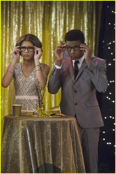 """#KCUndercover 1x01 """"Premiere Episode"""" - K.C. and Lincoln (guest star, Trevor Jackson)"""
