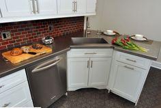 Corner Kitchen Sink Design Ideas