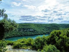 Canal Limski na Croácia.  Fotografia: nishe7 no Flickr.