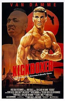 Kickboxer is a 1989 American martial arts sports drama film written, produced and directed by Mark DiSalle, and also directed by David Worth, and starring Jean-Claude Van Damme and former world kickboxing champion, Dennis Alexio. Streaming Movies, Hd Movies, Movies Online, Movies And Tv Shows, Movie Tv, Watch Movies, Movie Theater, Chuck Norris, Mike Tyson