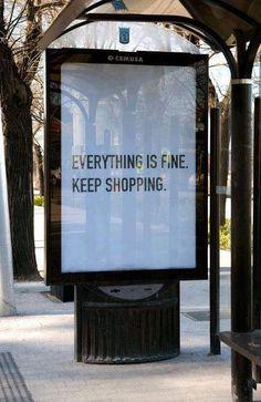 stop shopping