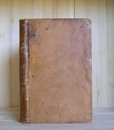 Antique Book 1850 Elements of Logick by Levi by CrookedHouseBooks