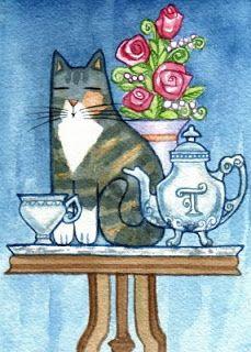 Susan Faye Watercolor Animal Art :)