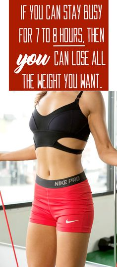 Even you can lose weight fast.
