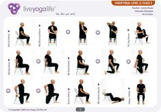 Chair Yoga for Seniors. Now while this is for seniors it will also ...