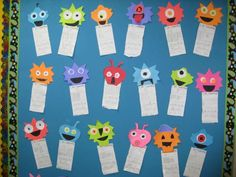 Place Value Monsters--FREE pattern. Place value has been a little bit of a struggle in 2nd grade. Maybe monsters would help. :)