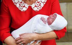 Royal baby third close up