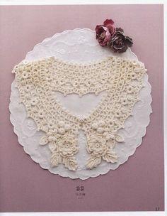 croche: crochet collar