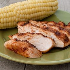 Sweet and Spicy Chicken: Instead of grilling it, I baked it in the oven at 375 for about 30 minutes. So GOOD!