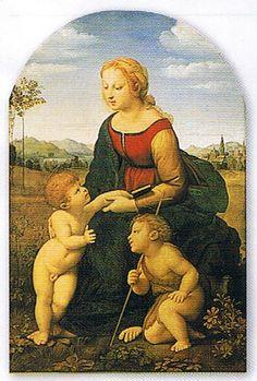 ラファエロ サンティ 美しき女庭師の聖母