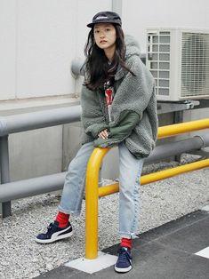 20 Most Popular Ideas Fashion Women Grunge Outfit Autumn Fashion Classy, Korean Fashion Winter, Winter Fashion Outfits, Japan Fashion, 90s Fashion, Girl Fashion, Womens Fashion, Women's Grunge Outfits, Dr. Martens