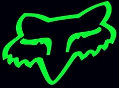 fox logo 2 green
