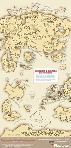 The Social Networking Map