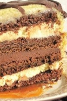 Bailey's Caramel Irish Cream Cake Recipe | Suburban Grandma